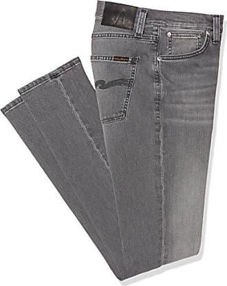 Lean Dean, Jeans Mixte, Gris (Pine Grey), L34/W30Nudie Jeans
