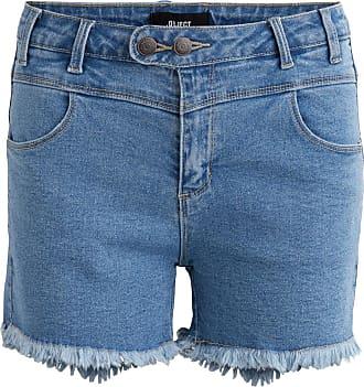 Kurze Jeansshorts Dames Zwart Object