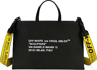 Off-white LARGE SCULPTURE PRINTED JUTE TOTE BAG