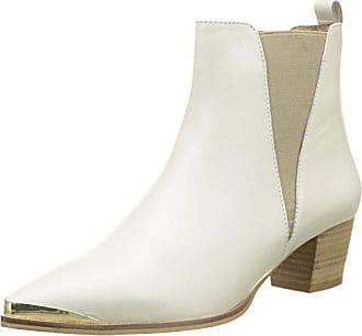 Office Miranda, Escarpins Bride Arriere Femme, Blanc (White Leather 10060), 39 EU