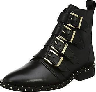 Azalea, Bottines Femme, Noir (Black Leather 00078), 40 EUOffice