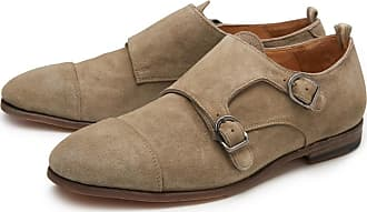 Double monk shoes Revien 013 khaki Officine Creative