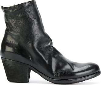 Boots for Women, Booties On Sale, Smoke Grey, Leather, 2017, 3.5 Officine Creative