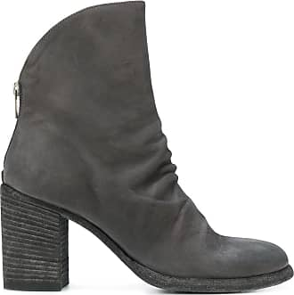 Boots for Women, Booties On Sale, Smoked, Leather, 2017, 6.5 Officine Creative