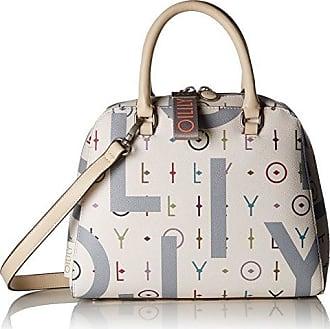 Damen Jolly Letters Handbag Shz Henkeltasche, Weiß (Offwhite), 12x22x28 cm Oilily
