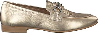 Goldfarbene Omoda Loafer EL03
