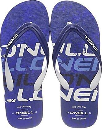 FM Imprint Pattern Flip Flops, Infradito Uomo, Blau (5900 Blue AOP), 39 EU O'Neill