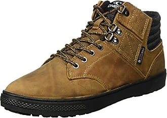 Raybay LX Leather, Sneaker a Collo Alto Uomo, Grigio (Antracite), 44 EU O'Neill