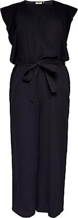Einfarbiger Jumpsuit Dames Zwart Only