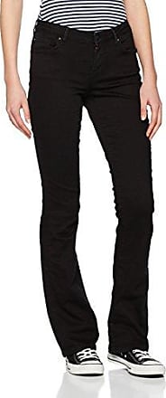 Womens Onlvera Reg Bootcut Black Rea Jeans Only