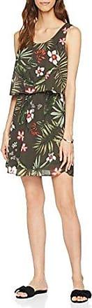 Only Onlmaya S/l Overknee Dress Wvn, Vestido para Mujer, Multicolor (Rose Dawn AOP: Creole Flowers), 38 (Talla del Fabricante: 36)