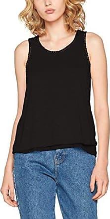 LPB Woman Top Detail Dos, Camiseta sin Mangas para Mujer, Negro (Noir), Large