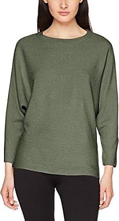 096CC1I023, Pull Femme, Vert (Olive), 40 (Taille Fabricant: Large)EDC by Esprit