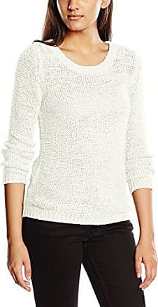 Only Perfect L/S Pullover Knt - suéter Mujer, Blanco (Cloud Dancer), 40 inches (Talla del fabricante: L)