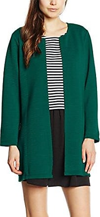 Only Onlleco 7/8 Long Cardigan Jrs Noos, Chaqueta Punto para Mujer, Verde (Rain Forest), 40 (Talla del fabricante: Large)