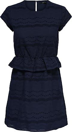 Raw Kleid Dames Blauw Only