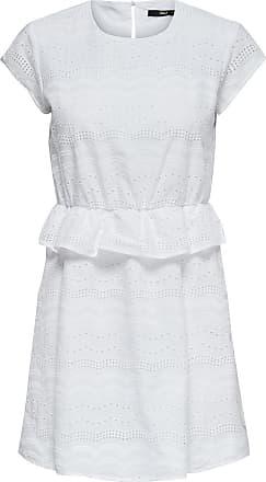Wickeldetail Kleid Dames Bruin Only