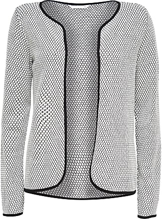Merinowoll- Strick-cardigan Dames Geel Selected