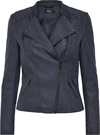 Leder-look Jacke Dames Zwart Only