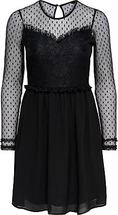 Sweat Kleid Dames Zwart Only