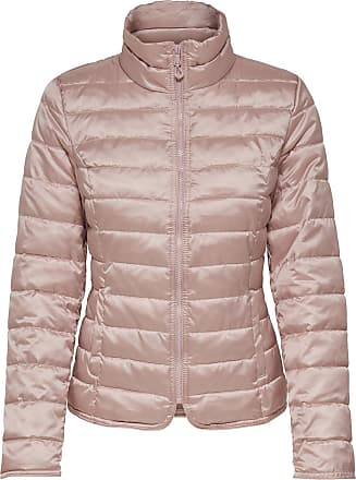 Nylon Steppjacke Dames Grijs Only
