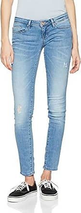 Only Onlroyal Reg Sk Ank Raw Jeans Pim1001, Mujer, Azul (Light Blue Denim), 36/L32 (Talla del fabricante: Small)