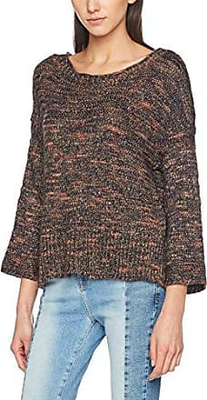 Only Onlhannuh 7/8 Pullover Knt, Suéter para Mujer, Azul (Sky Captain Cinnamon/Tarmac/Indian Tan Mel), 34 (Talla del fabricante: X-Small)