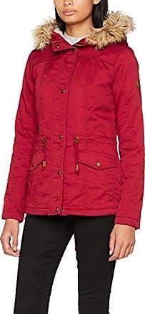 Only Onlpeyton Short Fur Parka Cc Otw, Parka para Mujer, Rojo (Sun-dried Tomato), 40 (Talla del fabricante: Large)
