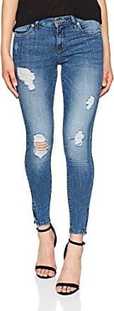 Only Onlkendell Reg Sk Ank Jeanscre162330noos, Jeans Ajustados para Mujer, Azul (Medium Blue Denim Medium Blue Denim), W31/L30