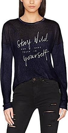 Onllive Love Peplum 3/4 Top, T-Shirt à Manches Longues Femme, Bleu (Night Sky Night Sky), 36 (Taille Fabricant: Small)Only