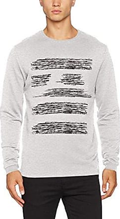 Onsodin Knit, Suéter para Hombre, Gris (Medium Grey Melange), Large Only & Sons