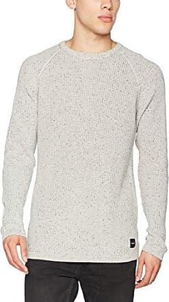 Onsorville Jaquard Knit, Suéter para Hombre, Gris (Dark Grey Melange), Large Only & Sons