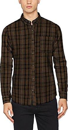 Onstimothy Longline LS Reg Shirt, Camisa para Hombre, Gris (Grey Pinstripe), Medium Only & Sons