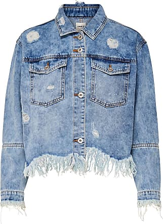 Jeans Jacke Dames Blauw Only