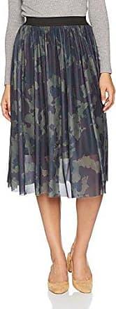 Only Onlerica Calf Mesh Skirt Jrs, Falda para Mujer, Multicolor (Tarmac AOP:Camo Print), 38 (Talla del Fabricante: Medium)