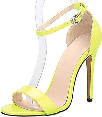 Sandalen, Sandalen, Damen, Heels und Heels, gelb, 38