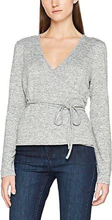 OPUS Sinna, Camiseta para Mujer, Gris (Pure Grey Melange 8050), 38