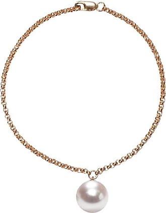 ORA Pearls 14kt Gold Alba White Pearl Bracelet