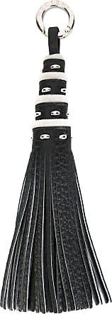 Orciani frayed keyring - Black