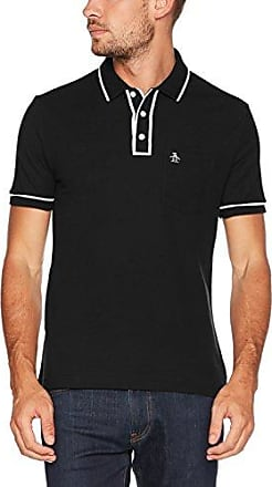 Championship Earl, Polo para Hombre, Negro (True Black 010), Large Original Penguin