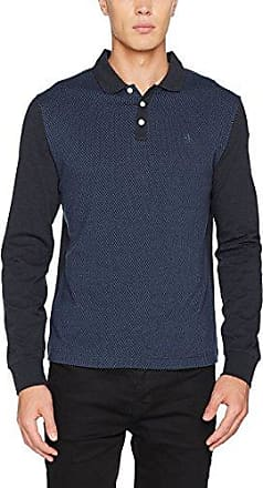 Original Penguin Jacquard Front, Polo Homme, (Dark Sapphire 413), X-Large (Taille du Fabricant: X Large)