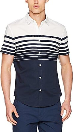 Original Penguin Textured Raised Rib, Polo Homme, Bleu (Dark Sapphire), XXL