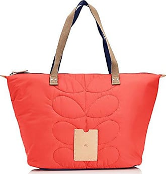 Stem Quilted, Damen Shopper, Rot (Red), One Size Orla Kiely