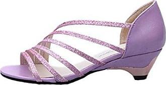 Zehentrenner Damen Slim Sandalen Schuhe Flats Thong Sandalen Sommer Schuhe Strand Flip Flop Hausschuhe  36 EUViolett
