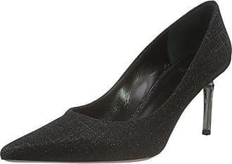 Ruanda 100, Zapatos de Tacón con Punta Cerrada para Mujer, Negro, 38 EU Oxitaly