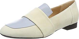 Oxitaly Gemma 05, Zapatillas de Estar por Casa para Mujer, Marfil (Riso Riso), 39 EU