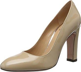 SARA 100 - Zapatos de Tacón para Mujer, Color Gris, Talla 42 Oxitaly
