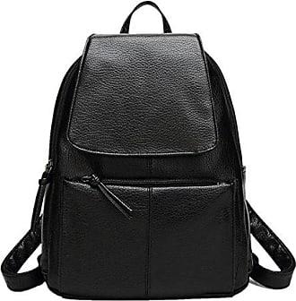 Frauen Rucksack Damen Schultertasche Damen Tasche Tasche Mode Tasche PU Leder Rucksack,6-OneSize Laidaye