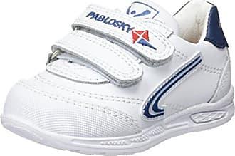 Pablosky 834304, Zapatillas para Niños, Blanco, 34 EU