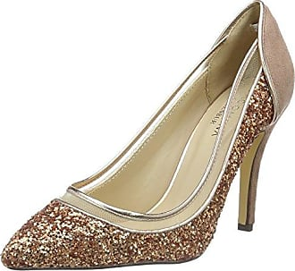 Ason, Zapatos de Tacón con Punta Cerrada para Mujer, Gris, 40 EU Paco Mena